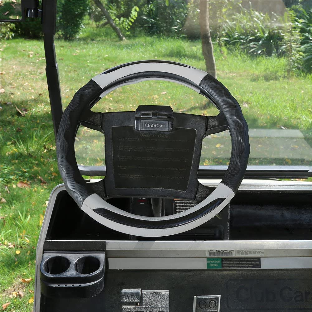 World 9.99 Mall Golf Cart Steering Wheel Cover for Club Car