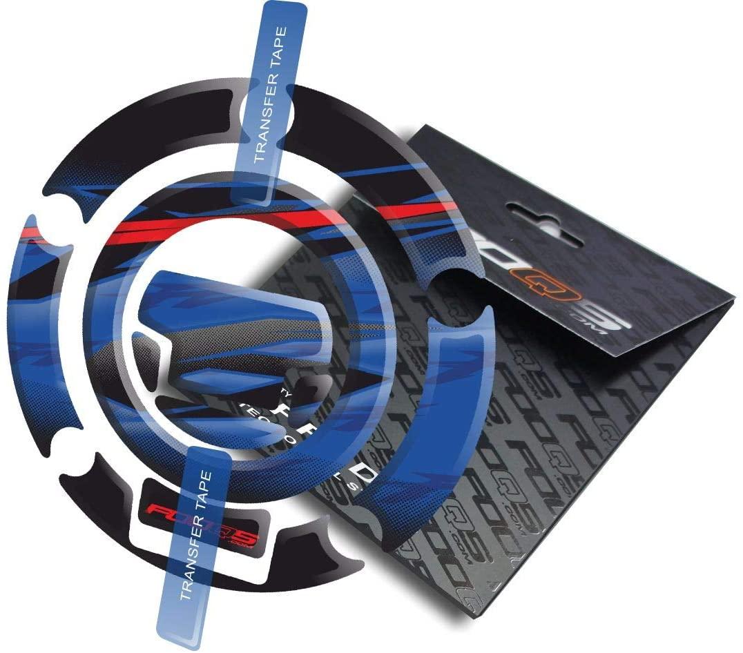 Cappad for Yamaha Fz6n Fz6s Fz6 Fazer (Blue/Red)