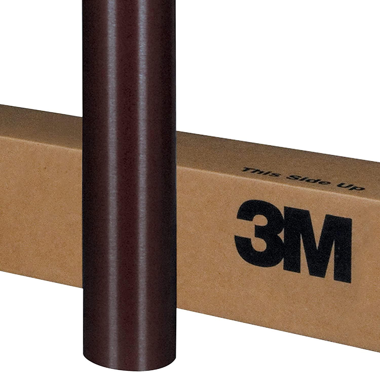 3M 1080 M209 MATTE BROWN METALLIC 60in x 900in (5ft x 75ft) Car Wrap Vinyl Film