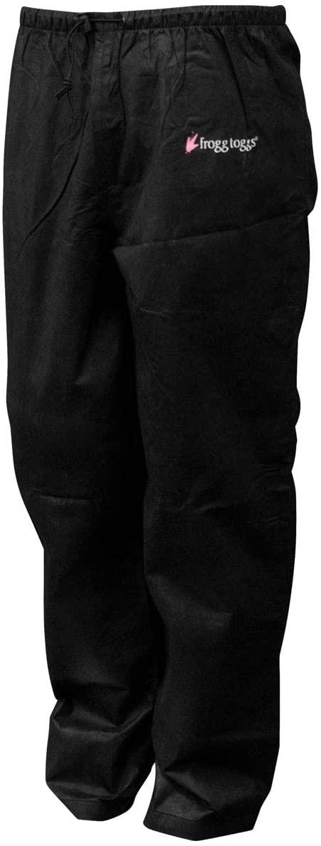Frogg Toggs Pro Action 2014 Womens Rain Pants Black MD