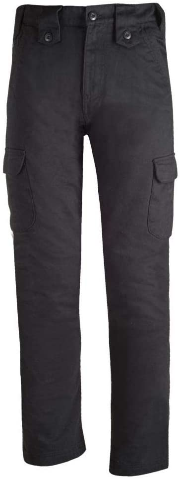 Bull-it SR6 Easy Fit Cargo Jeans (36 x 34) (Black)