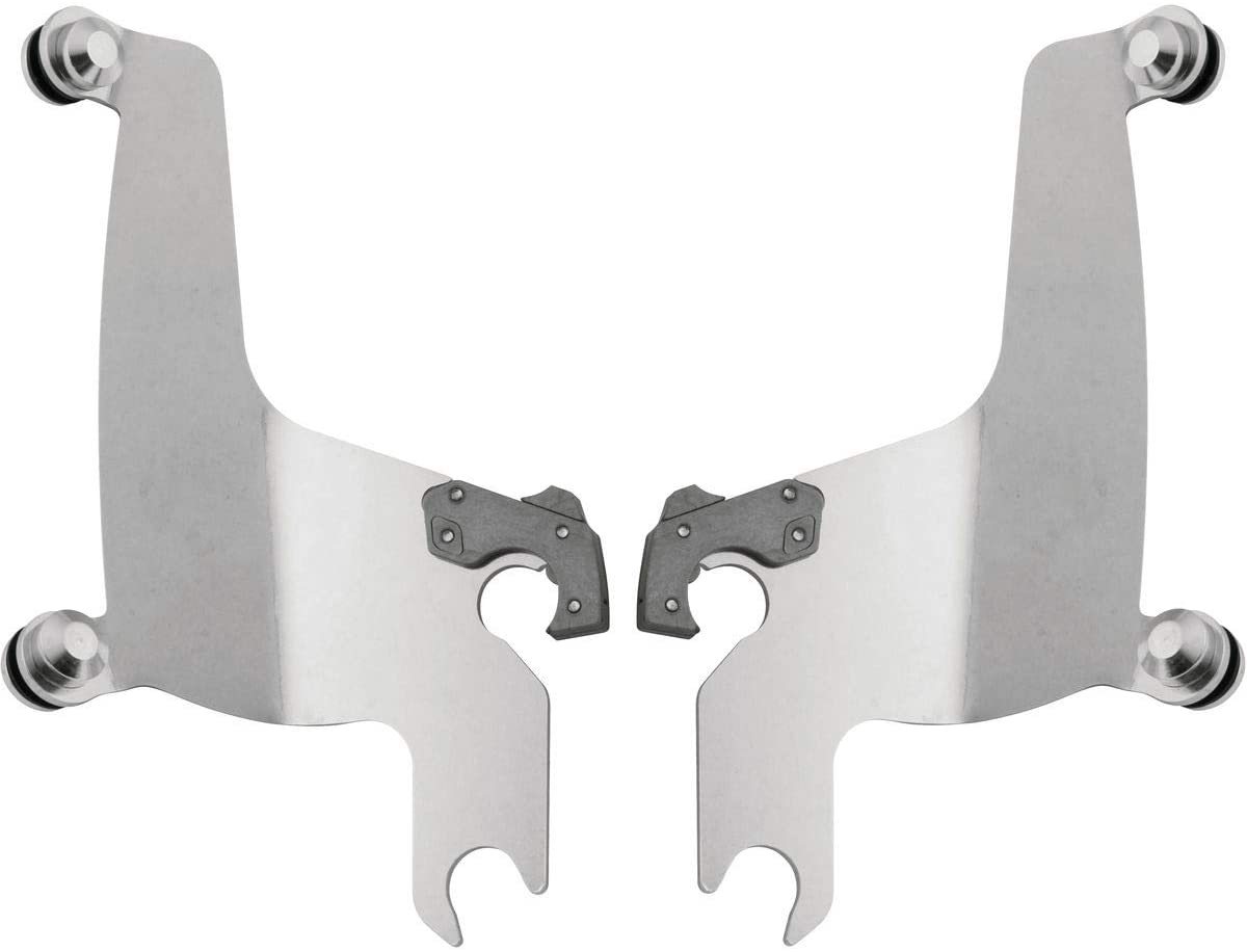 Memphis Shades Trigger-Lock Plate-Only Kit (Polished/SPORTSHIELDS) for 04-12 Victory Kingpin