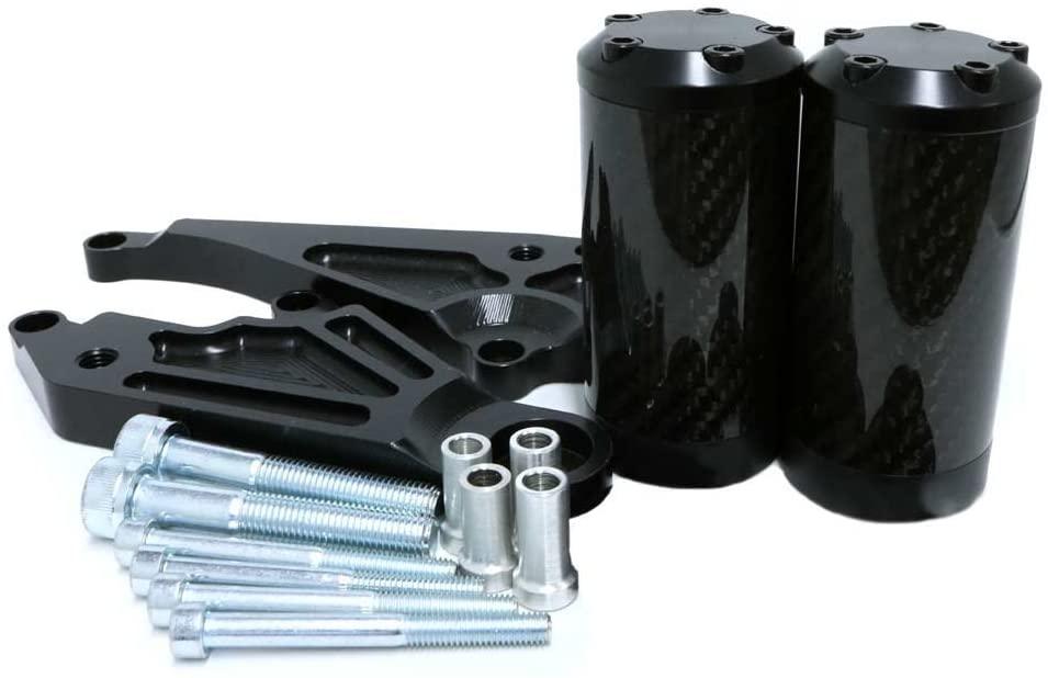 Shogun Honda CBR300R CBR 300 2015 2016 2017 2018 2019 2020 No Cut Carbon Fiber Frame Sliders Fits ABS & NON ABS Models - 710-3149 - MADE IN THE USA