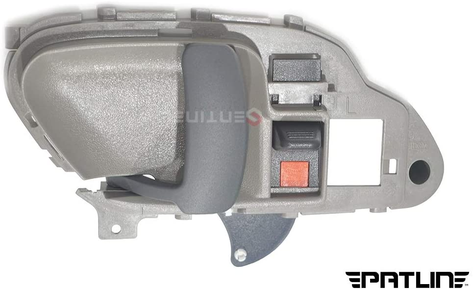 Patlin Left Driver Front & Rear Inside Inner Door Handle Compatible Replacement for Chevrolet Tahoe GMC Yukon 15708043