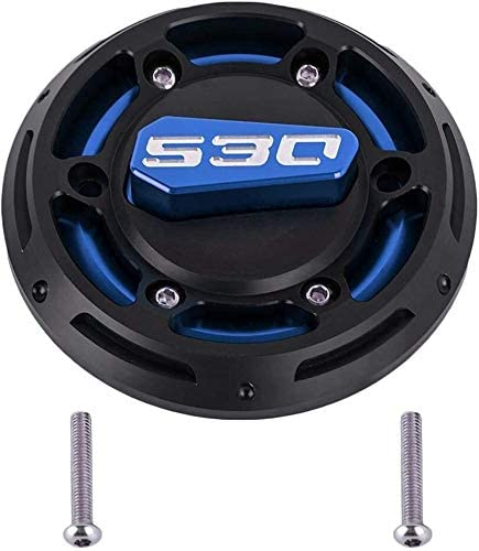 ASDZ Practical Motorbike Accessories Motorcycle Engine Stator Protective Cover Protection Cap Protector Guard for Yamaha T MAX 530 T-MAX 530 TMAX530 2012-2016 (Color : Blue)