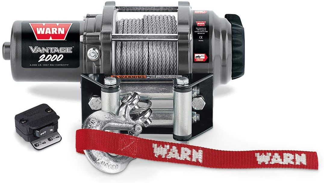Kawasaki KW90380 Warn Vantage 2000 Winch