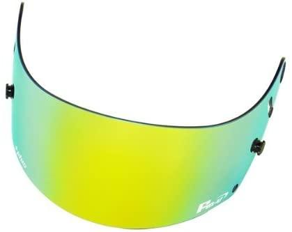 Fm-v Plus mirror coating visor GOLD/GREEN SMOKE for GP6 SK6