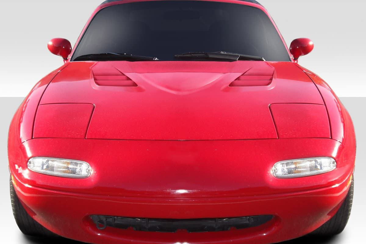 Compatible With/Replacement For Duraflex ED-LLI-576 Venom Hood - 1 Piece - Compatible With/Replacement For Miata 1990-1997
