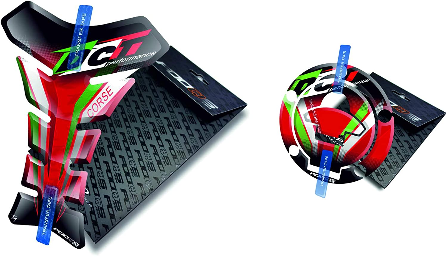 Tankpad and Cappad for Ducati 848 1098s Monster Panigale (Red Flag)