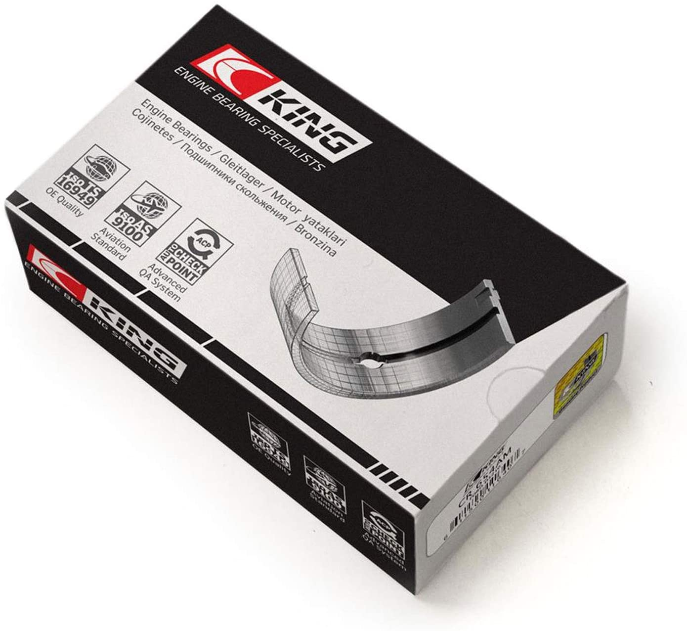 King Engine Bearings CR4002AM0.75 Connecting Rod Bearing Set