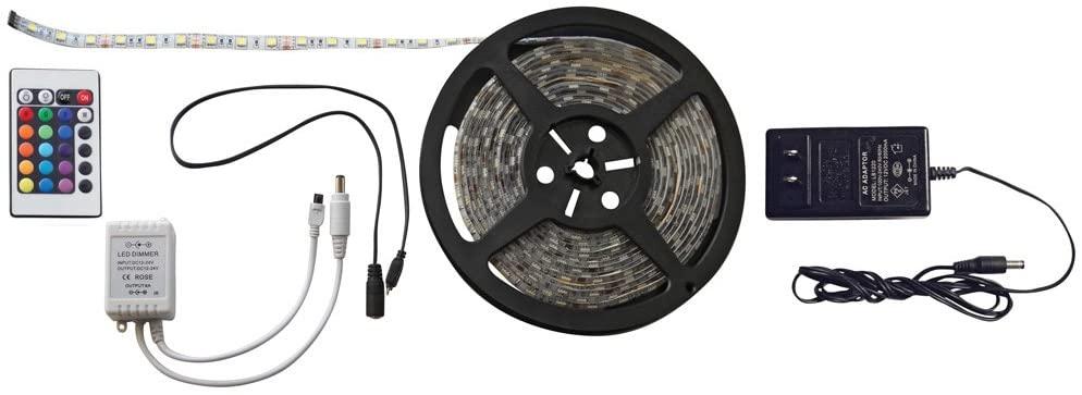 Diamond Group 52688 16.4' Multicolor LED Strip Light Kit