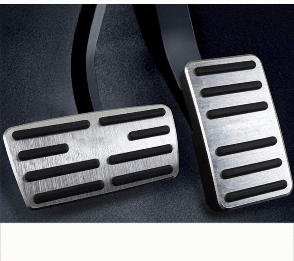 MPOQZI Car Foot Pedal Cover Pad,Fit for Honda C-RV CRV 2012-2016 2017 2018 2019 Accelerator Fuel Brake Pedal Pads Mat Cover Accessories