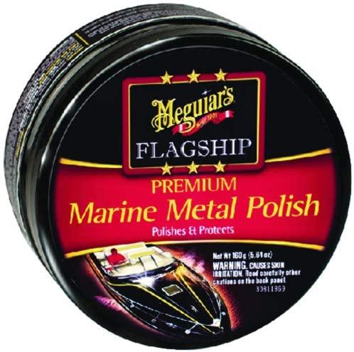 Meguiars, Inc Marine Metal Polish 6oz M180406