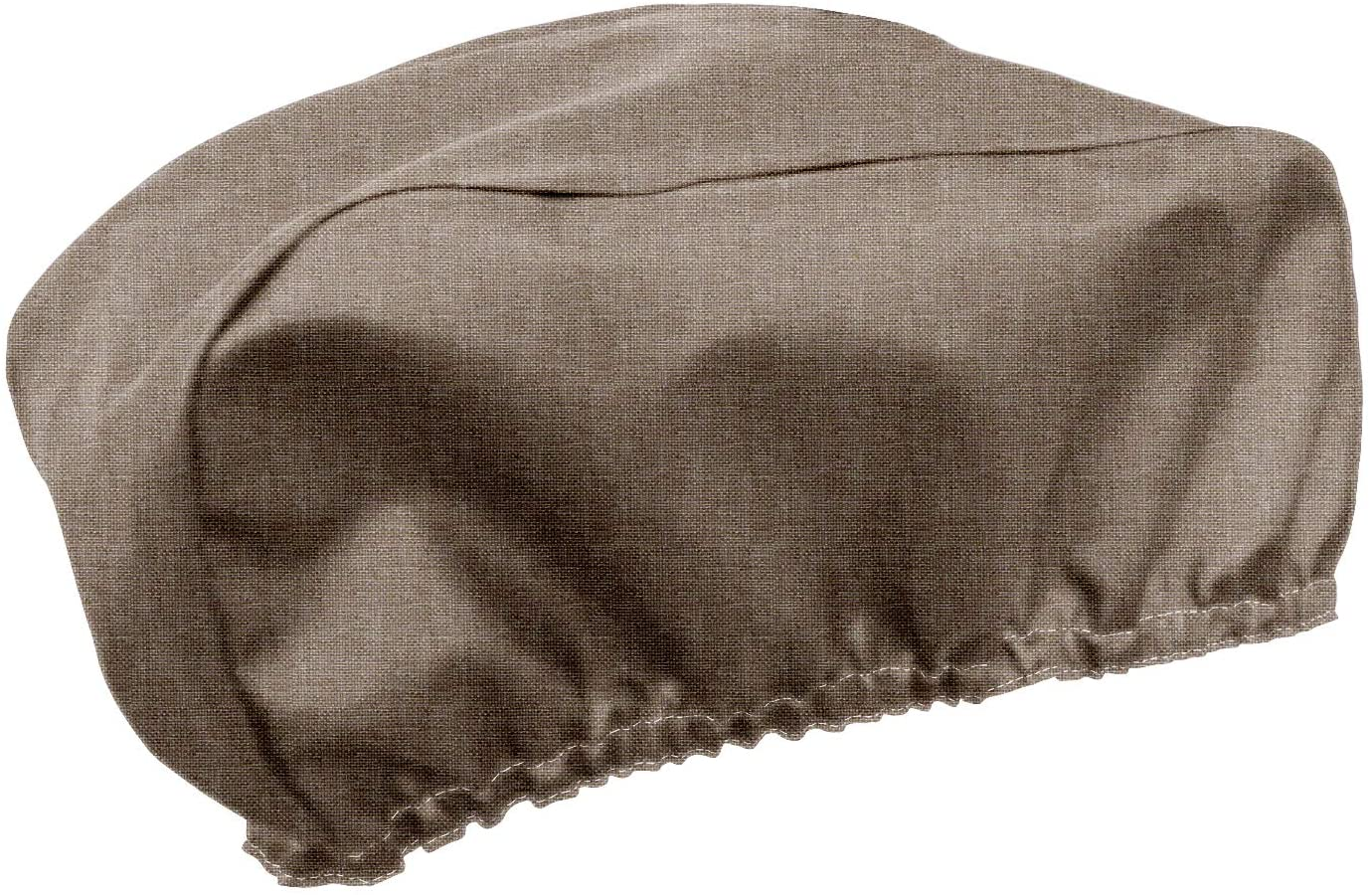 """Heavy Duty Oxford Winch Cover, Waterproof, Dust-Proof,UV -Resistant Universal Winch Protective Cover with Electric Compatible with Winches Up to 17500 Lbs, 24"""" W x 10"""" H x 7"""" D (Khaki)"""