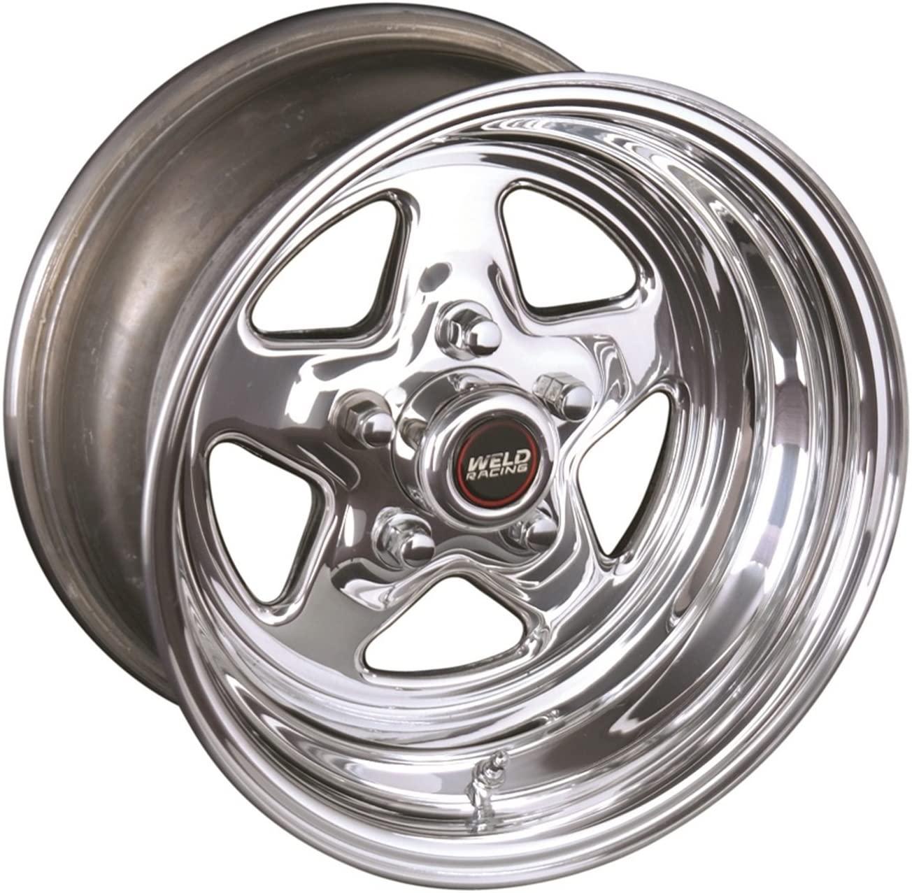 Weld ProStar 15x4 / 5x4.75 BP / 2.5in. BS Polished Wheel - Non-Beadlock