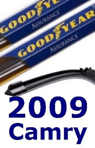 2009 Toyota Camry Replacement Windshield Wiper (2 Blades)