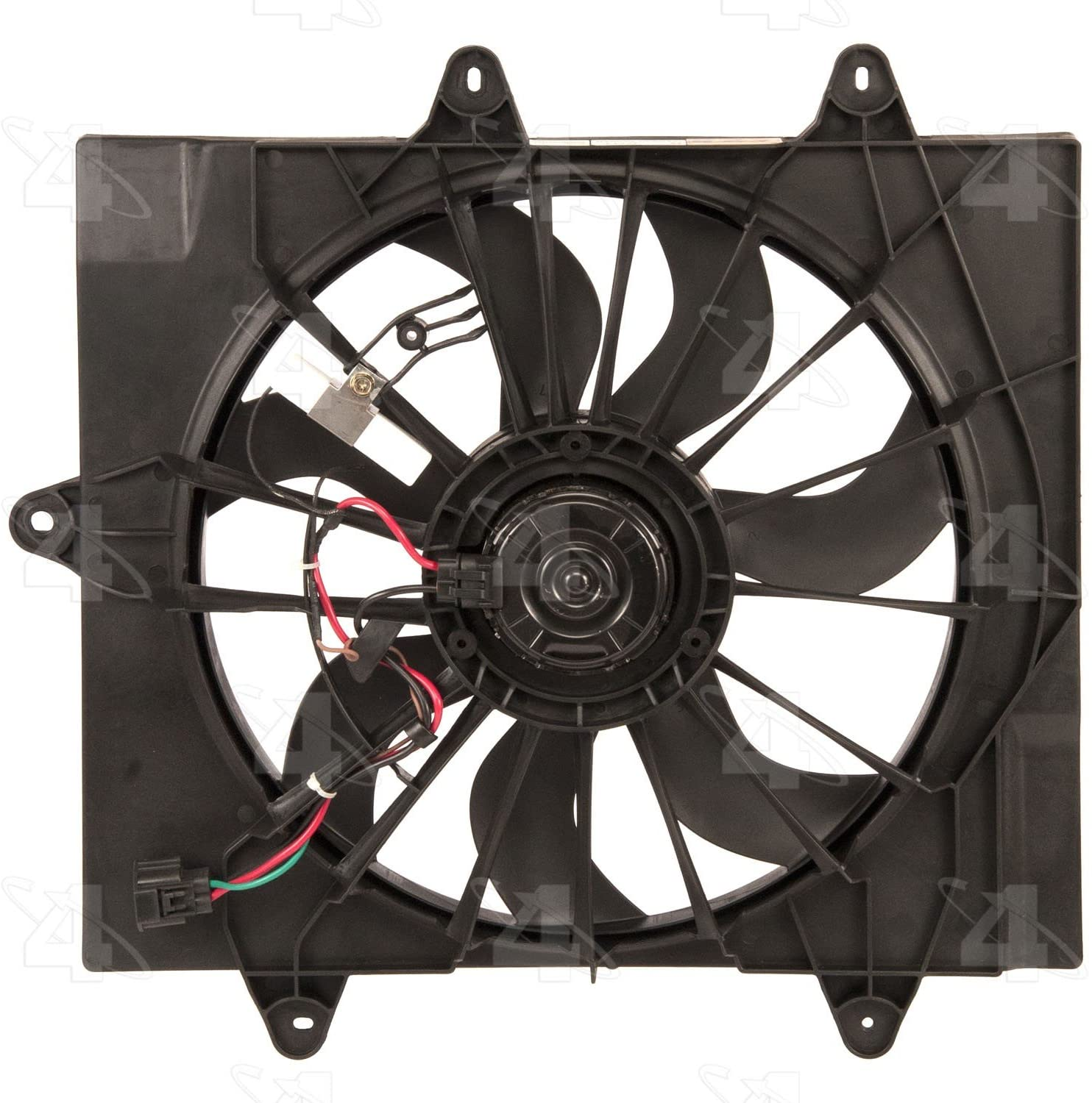 Four Seasons 76006 Radiator Fan Motor Assembly