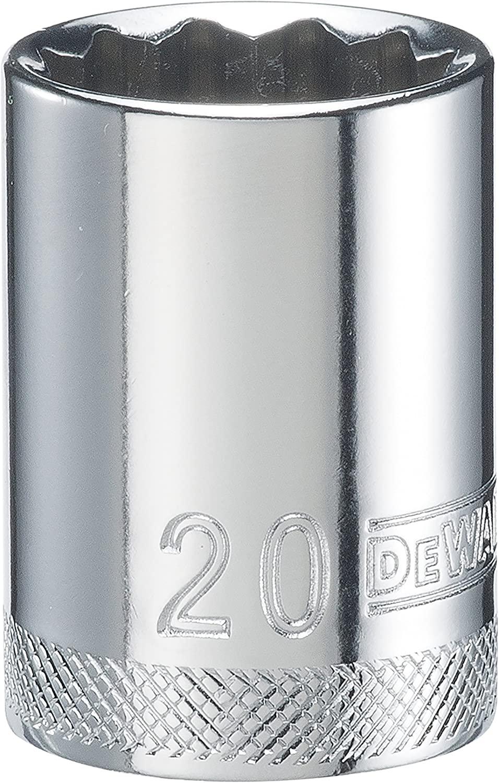 DEWALT DWMT74577OSP 12 Point 1/2 Drive Socket 20MM