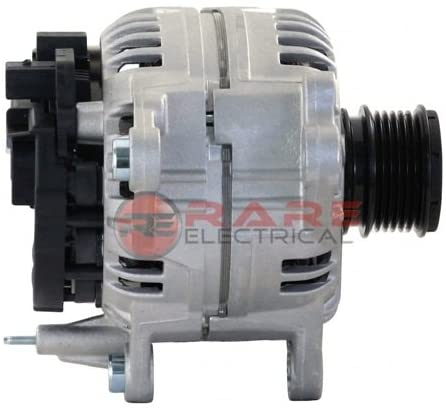 Rareelectrical NEW ALTERNATOR COMPATIBLE WITH VOLKSWAGEN TRANSPORTER 2.5L 2001-03 0124615006 074903025S