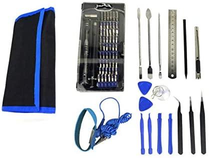 FixtureDisplays Screwdriver Set, Magnetic Driver Kit, Professional Repair Tool Kit, 75-in-1 Precision Screwdriver Kit with Portable Bag 18171-NF