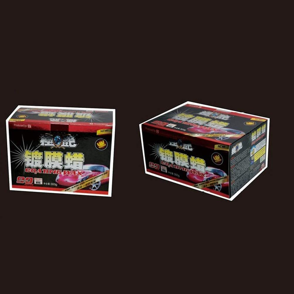 FairOnly Car Wax Crystal Plating Set Hard Glossy Wax Scratch Repair Wax Dark car Paint Car Cleaning and Renovation Products