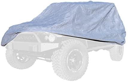 Outland 391332173 Full Car Cover Kit for Jeep CJ8/ LJ/JK Wrangler Unlimited