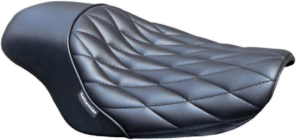 West-Eagle Motorcycle Products H0373 Solo Gunfighter Seat - Diamond