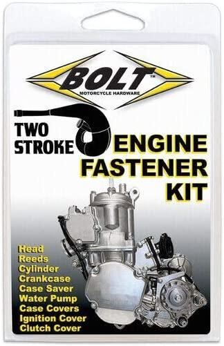 BOLT Engine Fastener Kit for 01-21 Kawasaki KX85