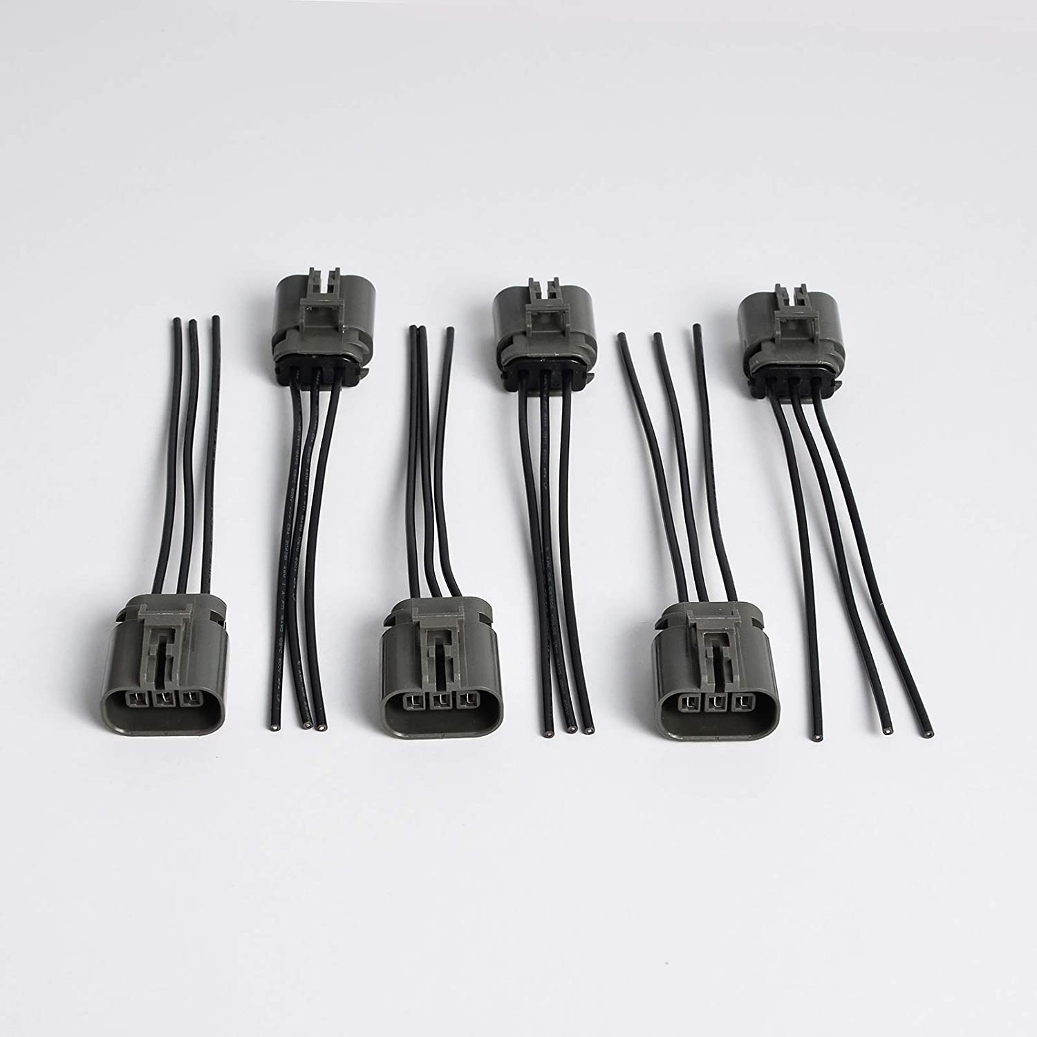 NICECNC 6PCS Ignition Coil Pack Wiring Harness Connectors Pigtail Replace 300ZX Z32 Infiniti J30