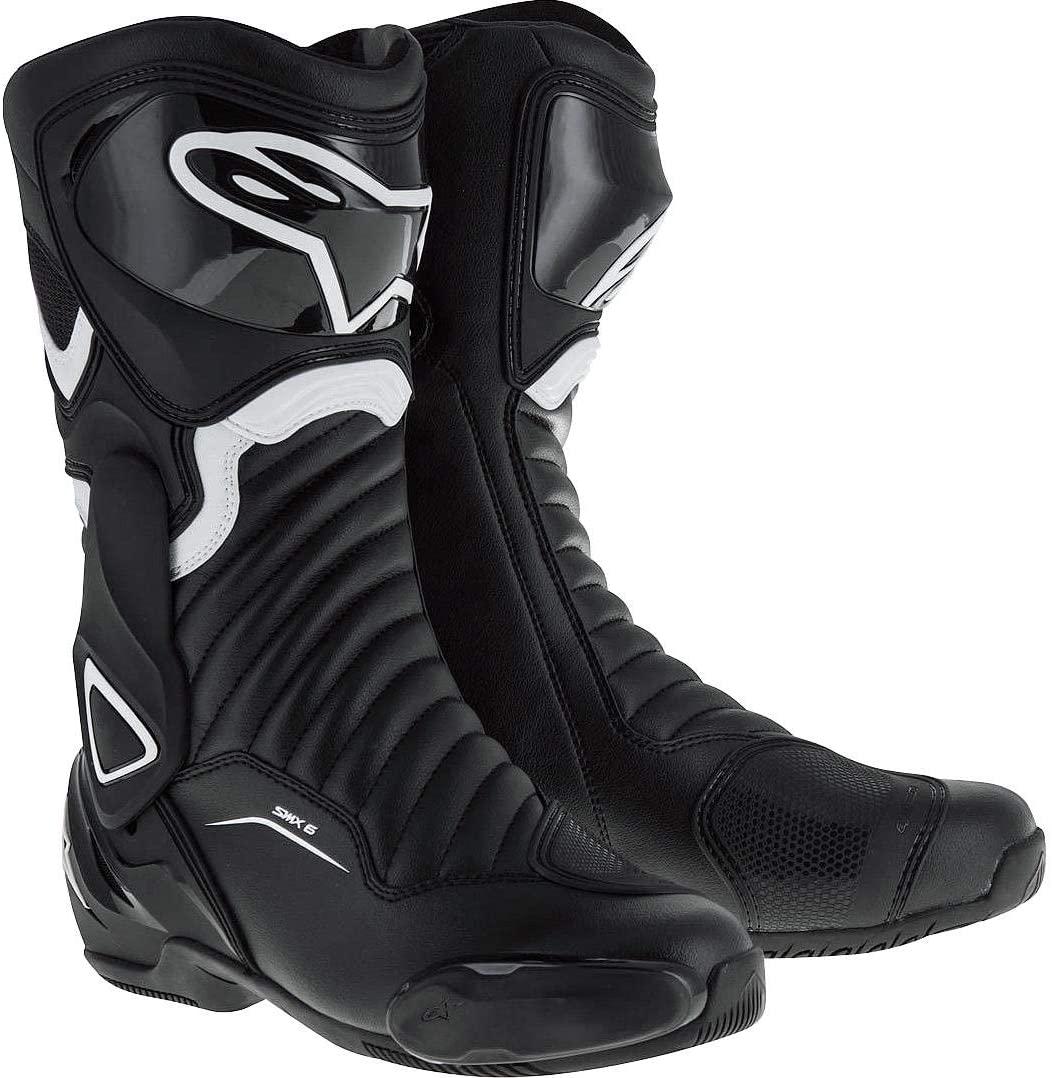 Alpinestars Women's Stella SMX-6 v2 Street Motorcycle Boot, Black/White,
