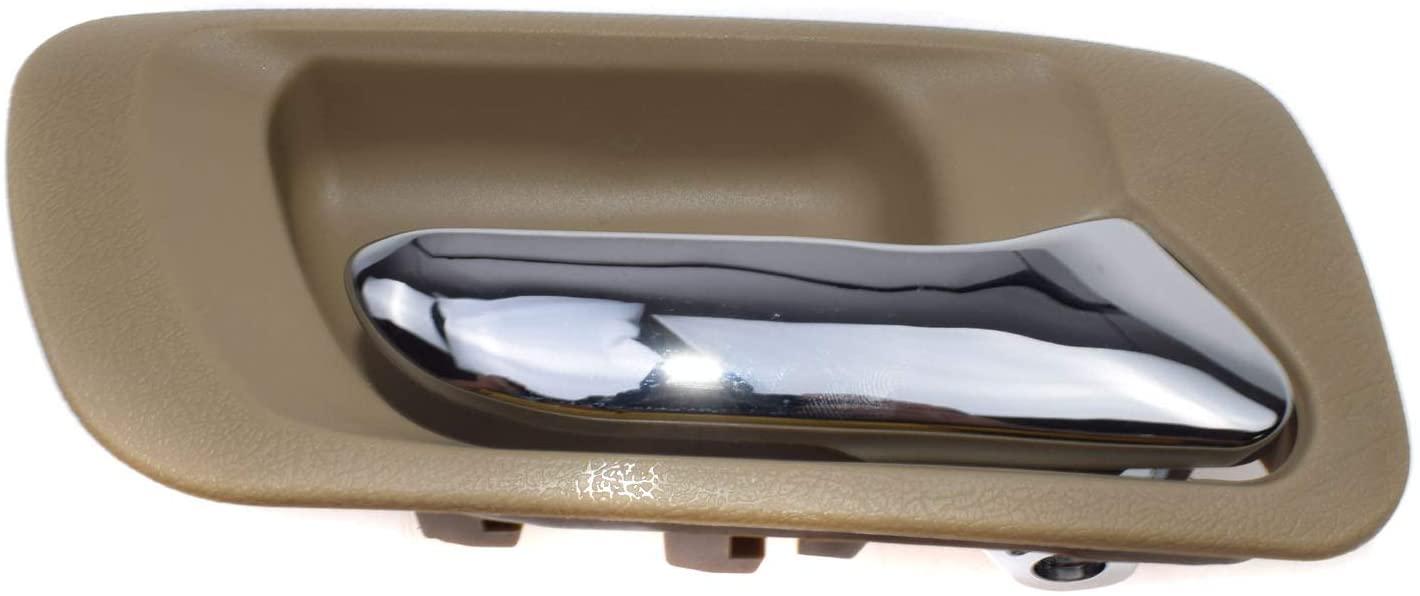 Beige Rear Right RH Interior Inside Door Handle NEW 72620S84A01ZC For Honda Accord Odyssey 1998-2004