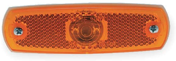 Marker Lamp, LED Low Profile, Yellow