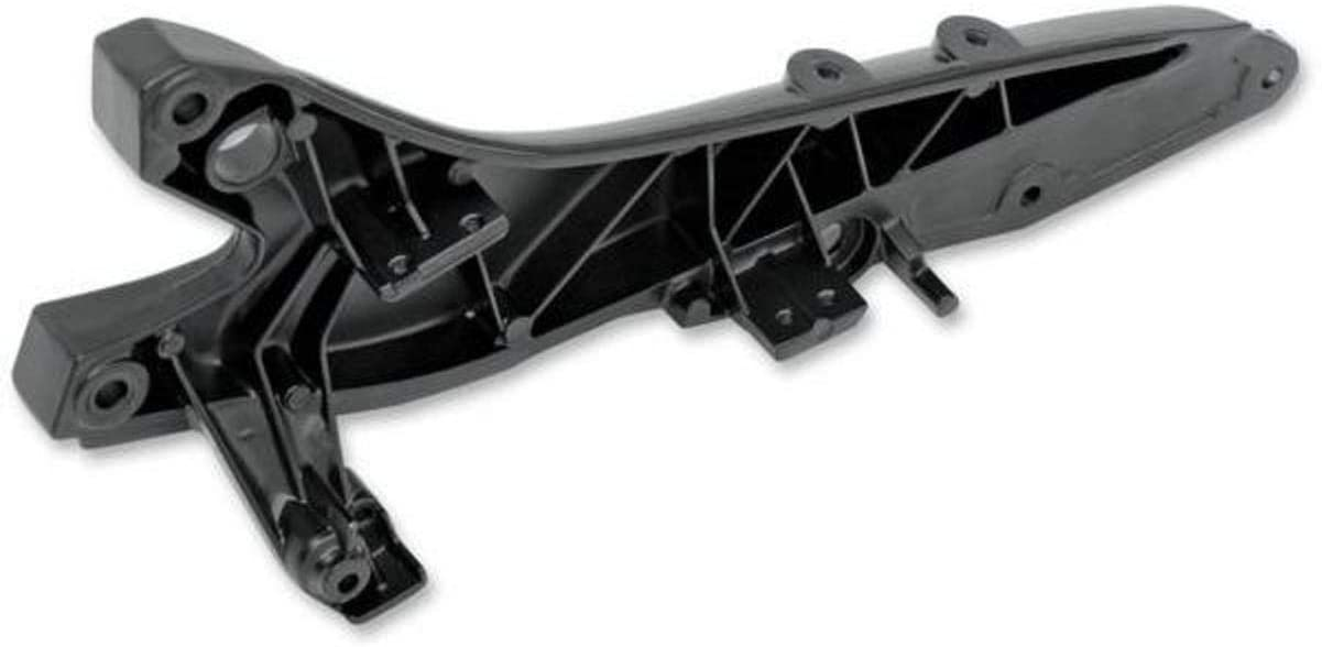 Motobrackets Subframe Seat Rail Bracket Left Blk for Suz GSX-R600/750 2006-2007