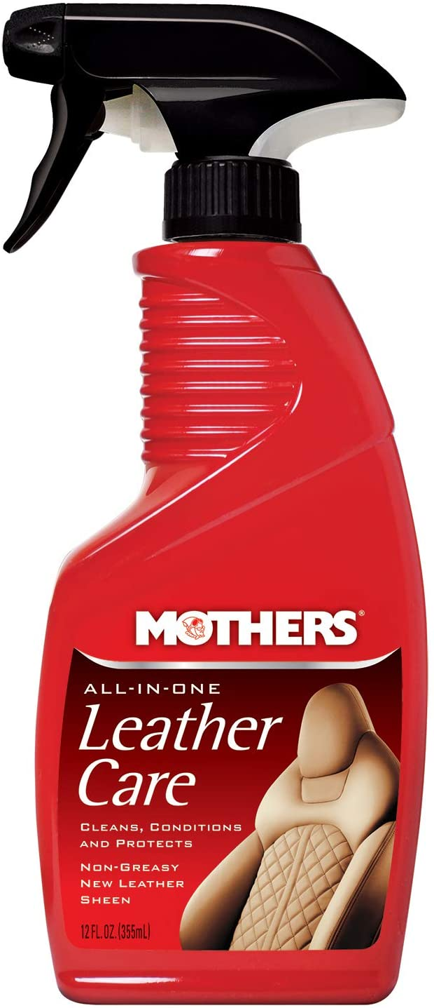 Mothers 06512 All-in-One Leather Care, 12 fl. oz.