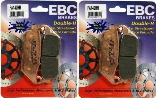 EBC Sintered Double H Front Brake Pads (2 Sets) for Both Calipers 2010-2011 Triumph Speedmaster FA142HH