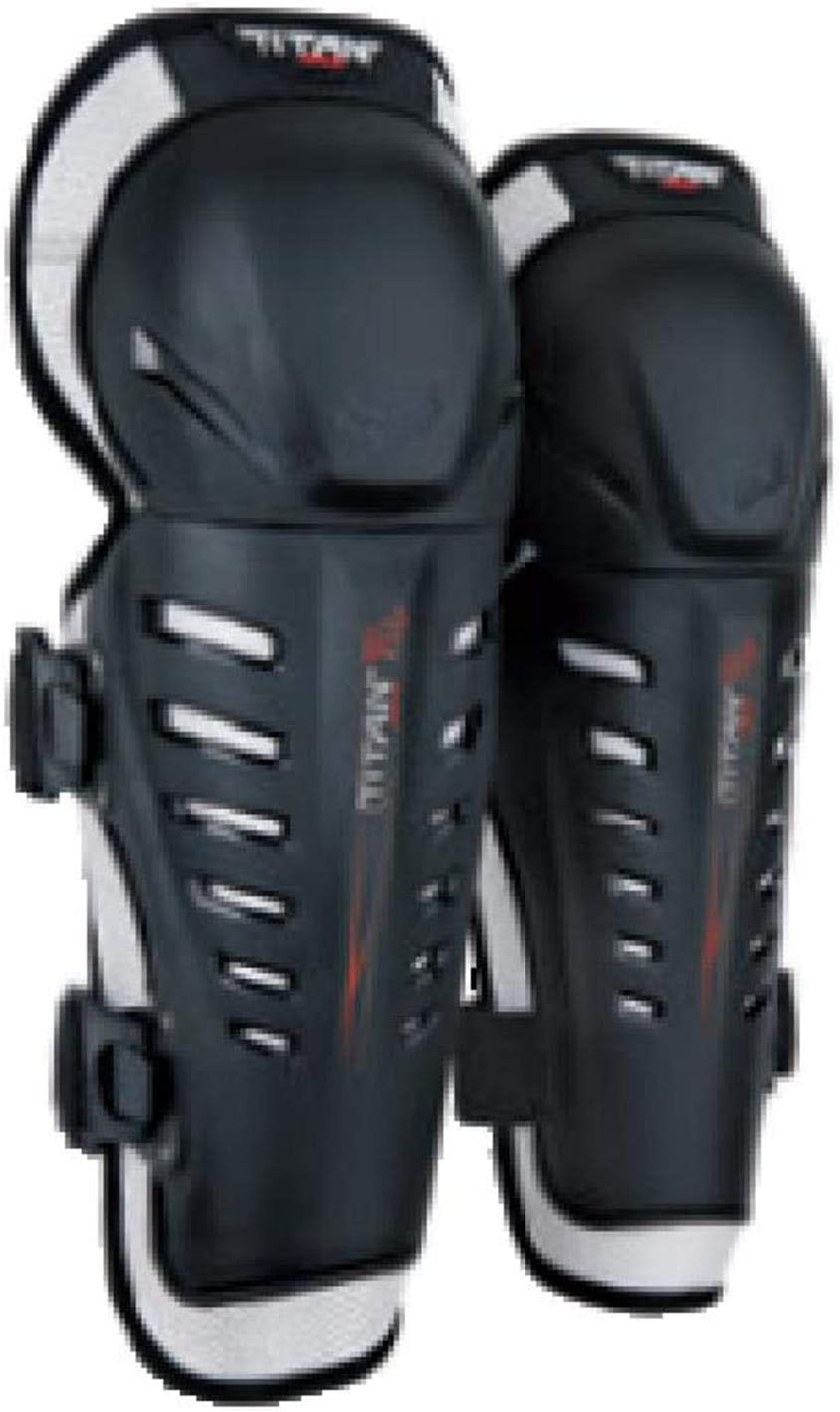 Fox Racing Titan Race Adult Knee/Shin Guard Off-Road Motorcycle Body Armor - Black/One Size