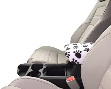 Auto Console Covers- Compatible with The Honda CR-V 2017-2020 Center Console Armrest Cover Fleece Fabric