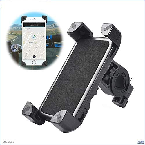 WXL Electronics 360 Rotating Bicycle Handlebar Holder for Samsung Galaxy S10 S10e S9 S8 S7 Note 10 9 8 5 A10 A20 A30 A40 A50 A60 A70 A80 M20 M30 Electrical Device Mounts (Color : Black)