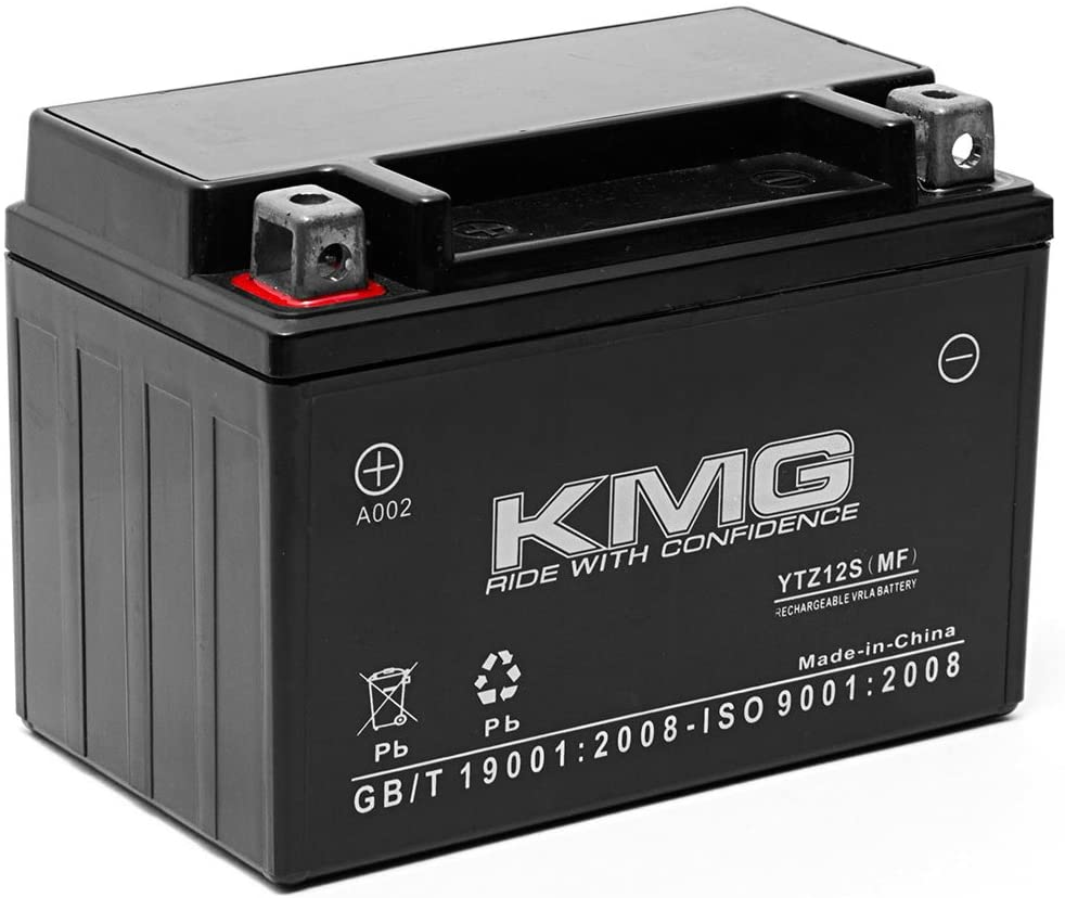 KMG Battery for Honda FSC600 Silver Wing 2002-2012 Replacement Battery YTZ12S Sealed Maintenance Free Battery High Performance 12V SMF OEM Replacement Powersport Motorcycle Scooter