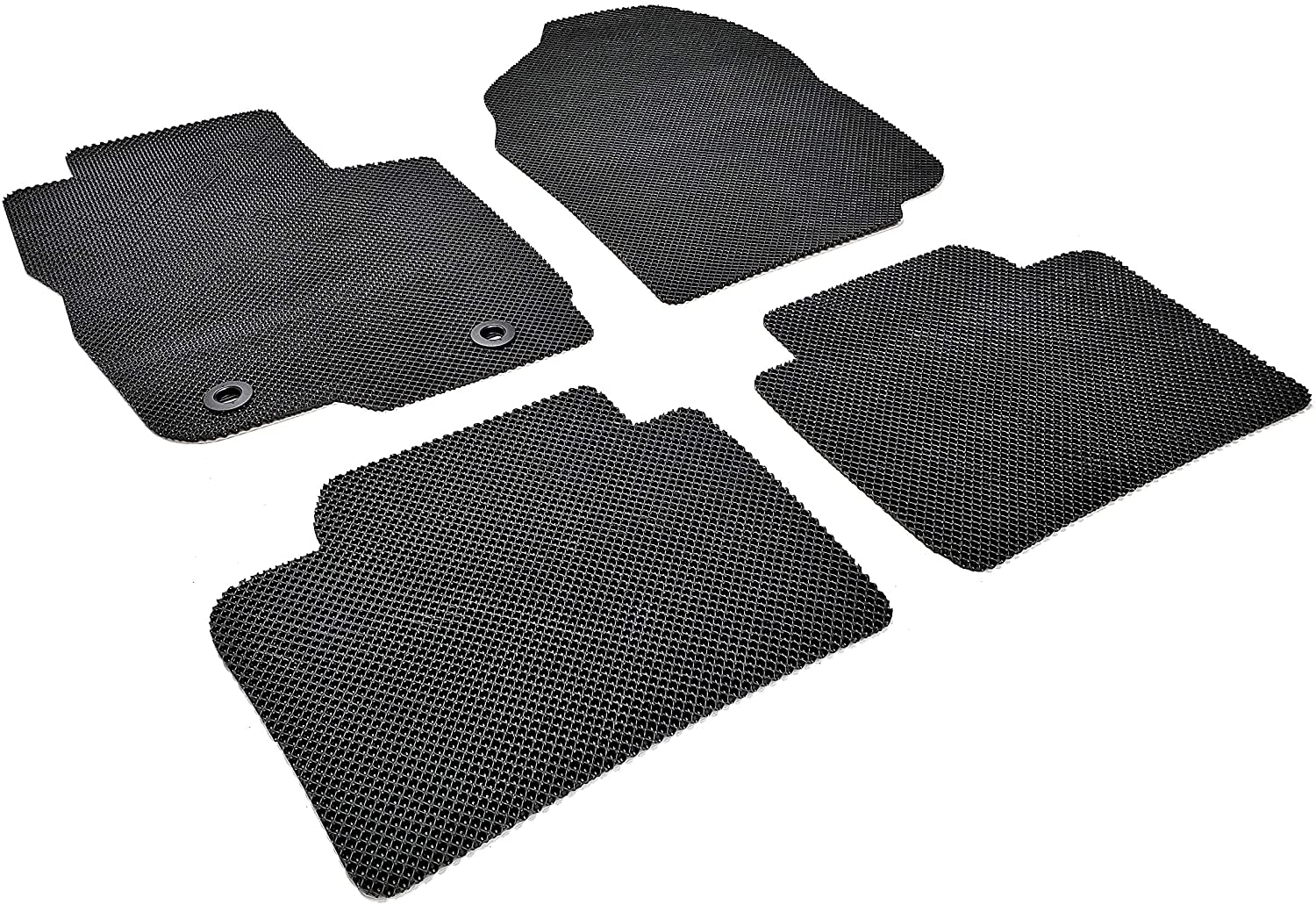 Autotech Park Custom Fit Car Floor Mat Compatible with 2013-2017 Subaru XV Crosstrek Wagon, All Weather Heavy Duty Floor Mat Set
