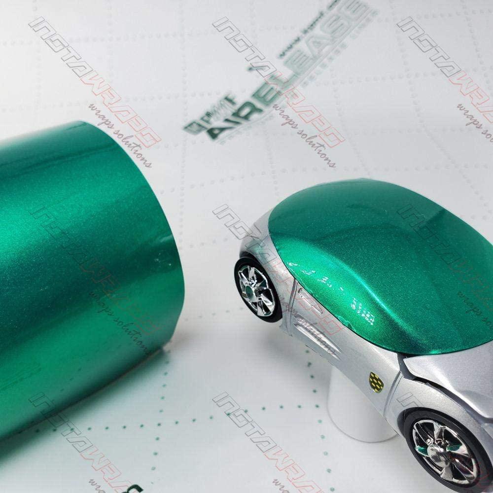 KPMF K75400 Gloss Envious Green Metallic | K75407 | Vinyl CAR WRAP Film (Sample 2in x 6in)