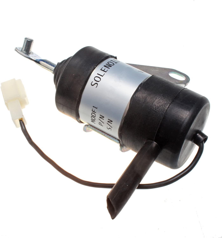 Mover Parts Fuel Shutoff Solenoid 6670776 for Bobcat 316 319 320 321 322 323 324 E14 E16 453 463 MT50 MT52 MT55