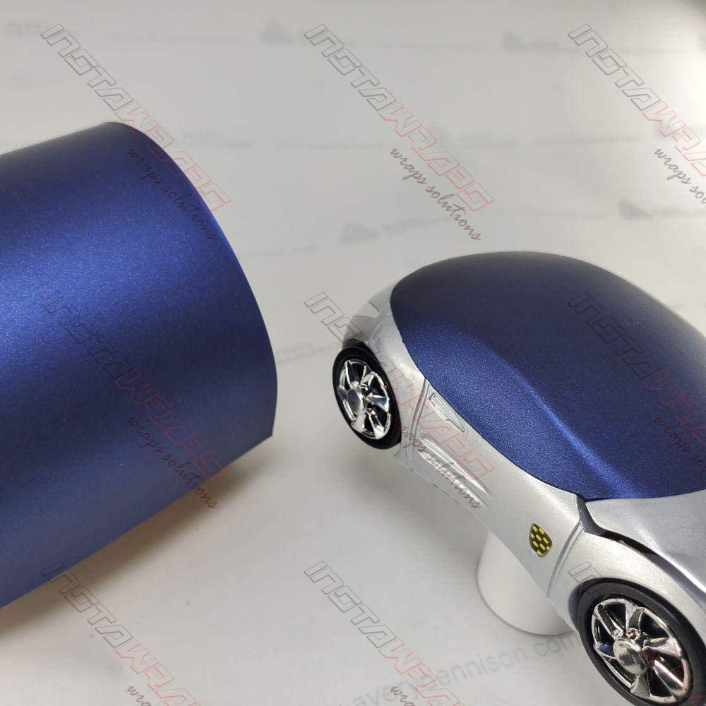 Avery SW900 Matte Night Blue Metallic | 623-M | Vinyl CAR WRAP Film (Sample 2.5in x 4in)