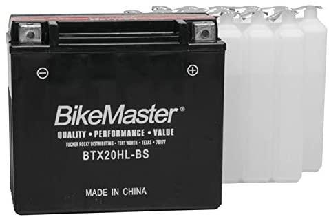 BikeMaster High-Performance Maintenance Free Battery BTX20HL-BS for Honda NRX1800 Valkyrie Rune 2004-2005