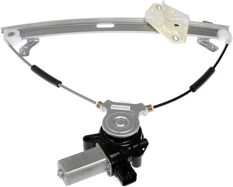 Dorman 741-304 Front Driver Side Power Window Motor and Regulator Assembly for Select Honda Models