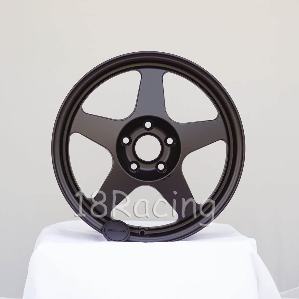 4 PCS ROTA SLIPSTREAM 17X8 PCD:5X120 OFFSET:40 HB:73 FLAT BLACK