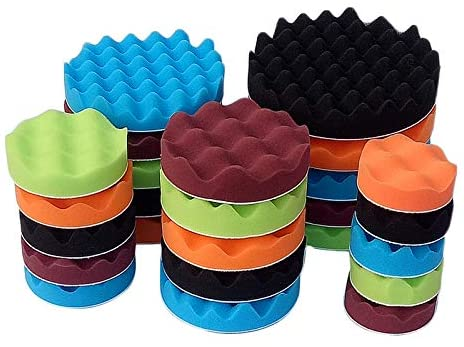 Polishing & Grinding 8 Pieces Buffing Polishing Wax Polishing Pad Kit For Car - (Color: 6Inches)