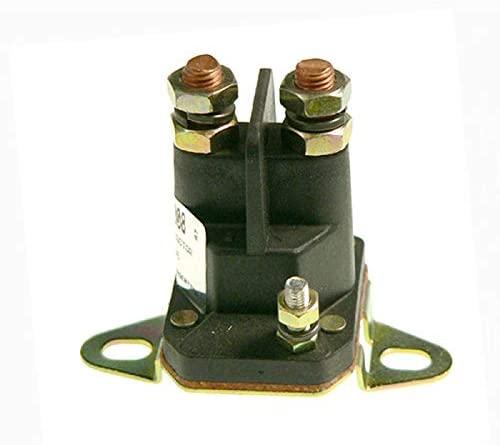 DB Electrical SSE6008 Starter Solenoid For Bobcat John Deere Snapper MTD & Universal Applications /12Volt 3-Terminal /48035A /AM103290