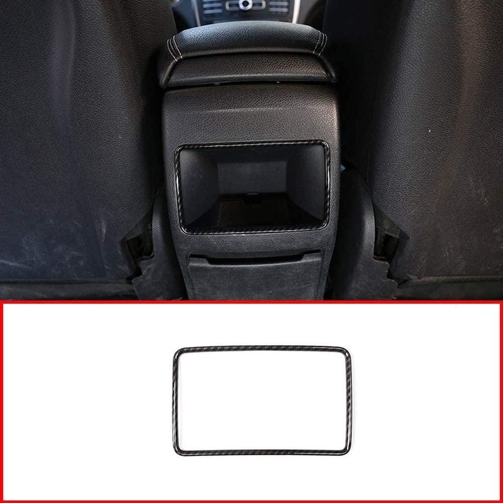 Carbon Fiber For MercedesBenz A B GLA CLA ClassW117 W176 W246 A180 ABS Chrome Rear Row Air Conditioning Vent Trim Accessory