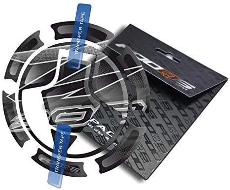 Fooqs Cappad for Kawasaki Z 300 Z-300 Z300 (Black)